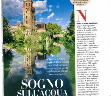 In battello da Padova a Venezia!